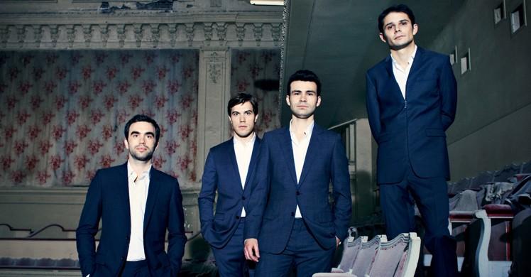 Quatuor Modigliani © Sylvie Lancrenon