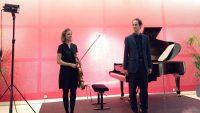 L'altiste Léa Hennino et le pianiste Pierre-Kaloyann Atanassov