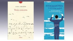 Lola Gruber pour Trois concerts, Jacques Perry-Salkow et Karol Beffa (illustrations de Jean-François Martin) pour Anagrammes à quatre mains récompensés du prix Pelléas-Radio Classique 2019