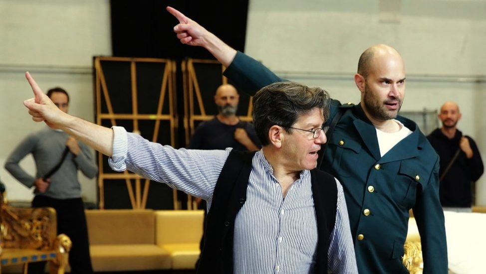 Robert Carsen and Bejun Mehta © Teatro alla Scala 2019