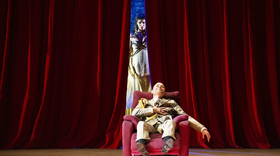 Bejun Mehta (Giuilo Cesare) and Danielle de Niese (Cleopatra) © Teatro alla Scala 2019