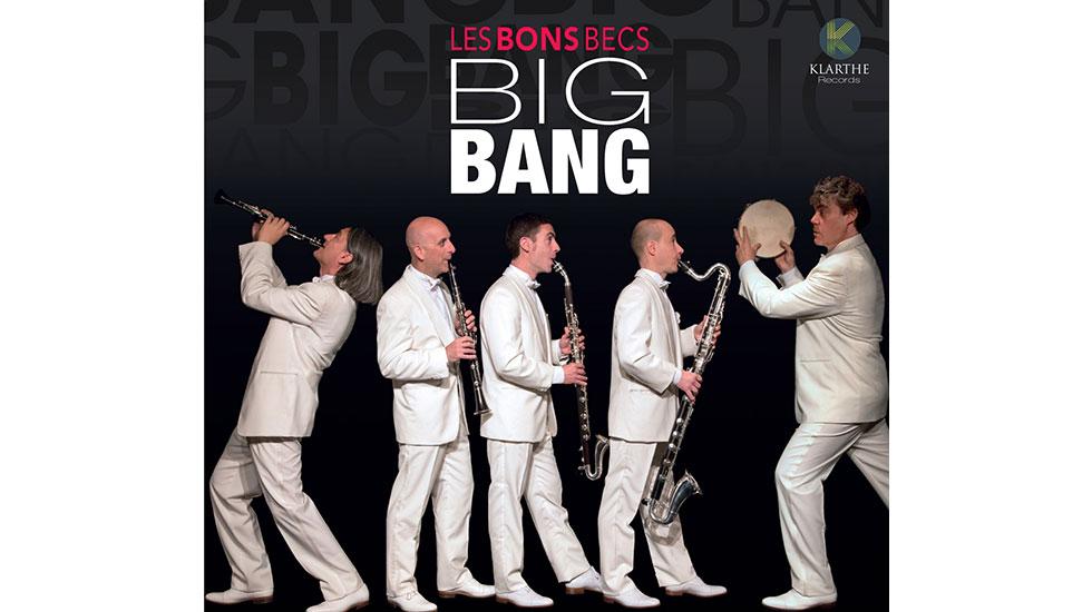 Big bang, le nouvel album des Bons Becs © DR