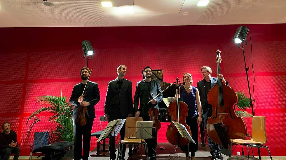 Les musiciens à la Schubertiade de Sceaux