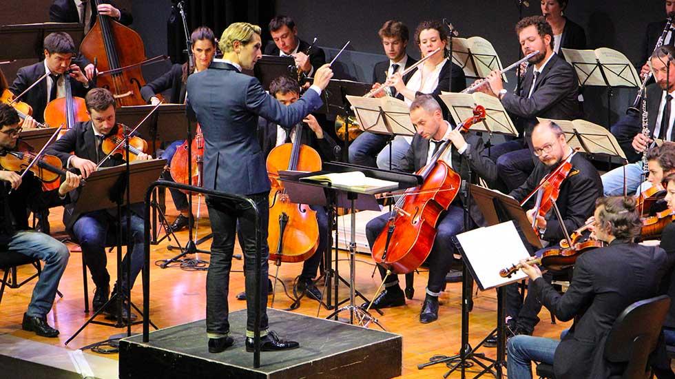 Clément Mao-Takacs dirige Secession Orchestra