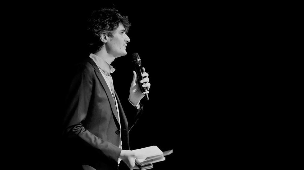 Rodolphe Bruneau-Boulmier, conseiller artistique de la Fondation Banque Populaire