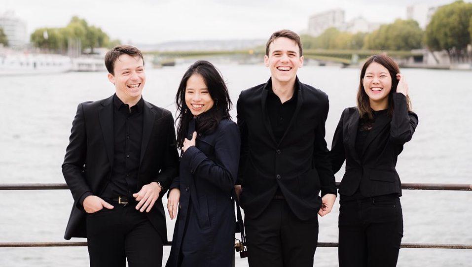 Le Quatuor Hermès © Lyodoh Kaneko
