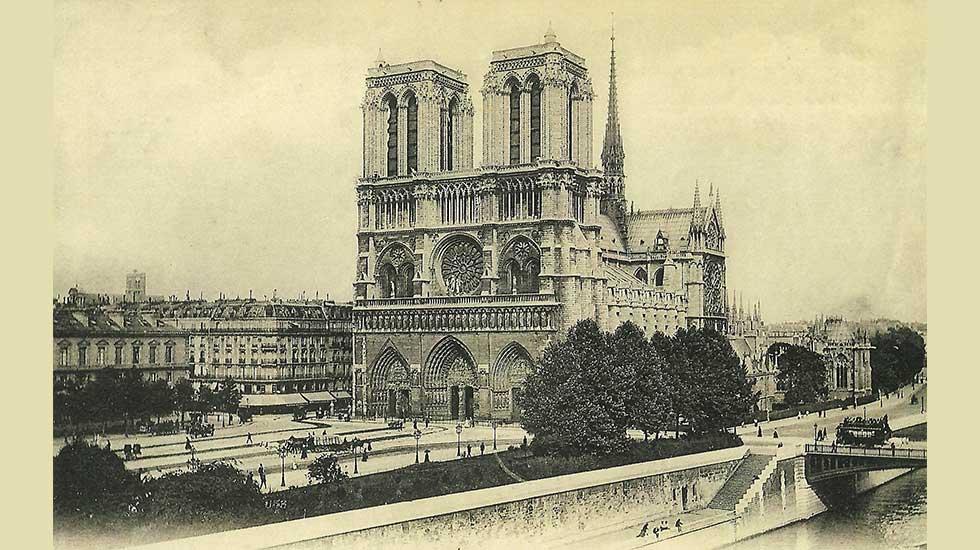 Notre-Dame de Paris dans les années 1900