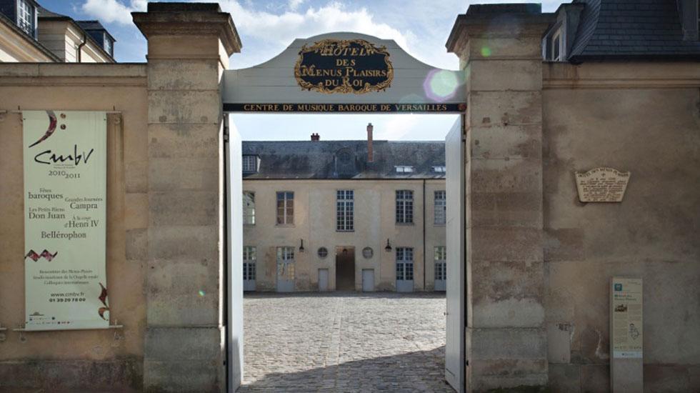 Le CMBV à Versailles © Pierre Grosbois