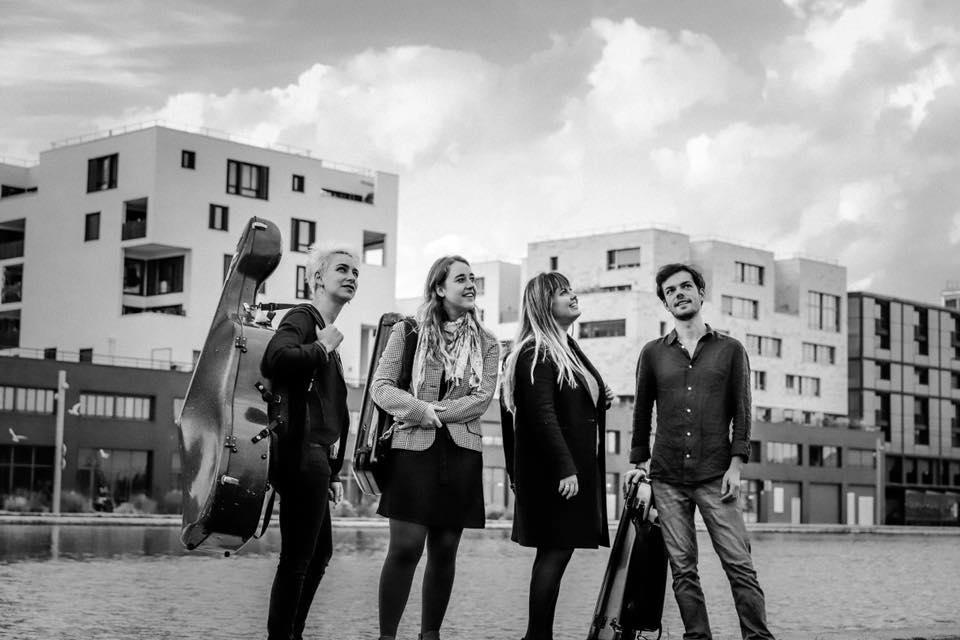 Le Quatuor à cordes Métamorphoses © DR