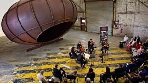 Le Quatuor Joyce et Claire Merlet à la Galleria Continua