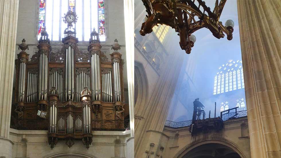 Le grand-orgue de la cathédrale de Nantes © Roland Galtier / © Diocèse de Nantes