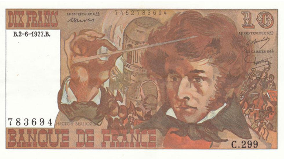 Billet 10 francs Berlioz © DR